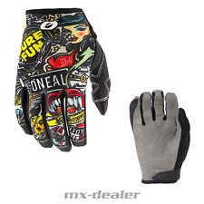 2021 Oneal Mayhem Crank II Handschuhe schwarz MTB MX Motocross Cross Enduro Quad