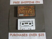 NINE INCH NAILS NIN THE DOWNWARD SPIRAL CASSETTE CLUB EDITION WITH CLOSER 48