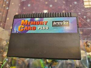 Sega Saturn Memory Card Plus InterAct Untested Sold As-Is