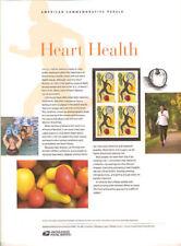 #885 (45c) Forever Heart Health #4625 USPS Commemorative Stamp Panel