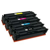 4 x Color Toner Cartridge for Canon 045 H LBP-612cdw MF632cdw MF634cdw MF633cdw