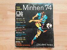 FIFA World Cup Munich Munchen 1974 Complete Sticker album Figurine Panini