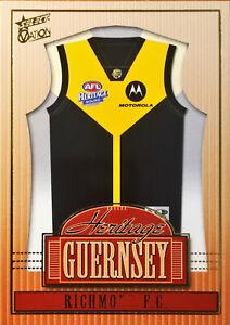 2004 SELECT AFL OVATION HERITAGE GUERNSEY, RICHMOND HJ7