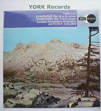 ECS 603 - SIBELIUS - Symphonies No 6 & 7 COLLINS London SO - Ex Con LP Record