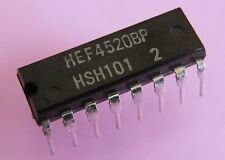 5x HEF4520BP Dual binary counter, Philips