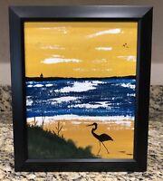 """Original Acrylic Painting """"Old Florida"""" 8""""x10"""""""