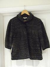 ELIZABETH SCOTT Cardigan Multi-Colour Boucle Knit 3/4 Sleeve Size Medium/Large
