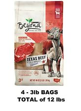 Purina Beyond Grain Free Natural High Protein Dry Dog Food Texas Beef & Lentil