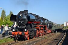 PHOTO  GERMAN RAILWAY -  DRB CLASS 52 NO 52 8195 'MITTELFRANKEN' WITH 2'2'T30 V5