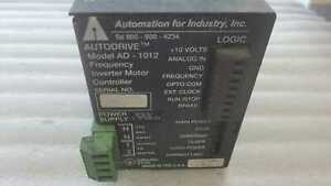 Automation for Industry, inc. AD-1012 Frequancy Inverter Motor Controller