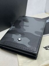 Montblanc Sartorial Camouflage Card Holder/Wallet 18685