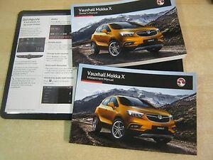 VAUXHALL MOKKA X OWNERS MANUAL HANDBOOK  2014-2018 COVERS NAV! R30