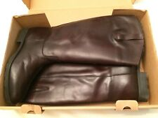 Eddie Bauer Womens Leather Boots Size 12m Style 2739 Brown NEW