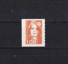 timbre France    Marianne  1f orange  autocollant    3009 **