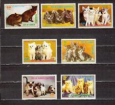 STAMPS Equatorial Guinea Ecuatorial Cats Fauna  MNH