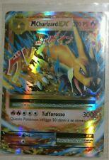 Lotto carte Pokemon MEGA M CHARIZARD EX 13/108 XY EVOLUZIONI EX FULL ART FA