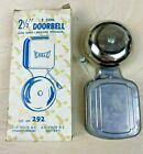 """MCM Vintage 2-1/2"""" Eagle Doorbell 292 Open Gong 2-Coil 6-10 Volt AC 3-6 Volt DC"""