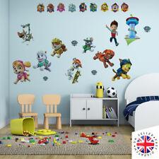 PAW PATROL Wall Stickers Vinyl Art Poster Bedroom Art Girls Boys Kids