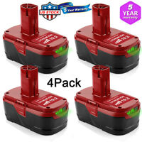 4X For Craftsman C3 19.2-volt XCP lithium-ion Battery 5166 PP2011 9-35709 PP2030