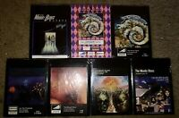 LOT OF 7 SEALED THE MOODY BLUES 8-TRACK TAPES A question balance CAUGHT LIVE +5