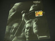 FAITH NO MORE brougt to you by MTV 1990 Promo Poster Ad mint condition