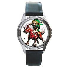The Legend of Zelda leather wrist watch