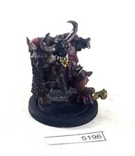 Warhammer 40k Chaos Space Marines Chaos Lord metal oop missing pieces 5196