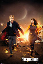 Doctor Who Run POSTER 61x91cm NEW * 12th Dr Capaldi Clara Oswald Jenna Coleman