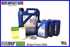 Mercedes Dodge Chrysler Mann Fleece Oil Change Kit HU718/5x 5w40 Liqui Moly 8L