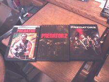 Lot of 3 PREDATOR DVD's