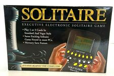 Excalibur Solitaire Executive Electronic Handheld Game Travel