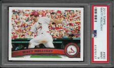 2011 Topps # 490 MATT HOLLIDAY Mint PSA 9 St. Louis Cardinals World Series