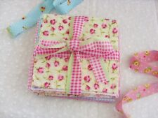 """6""""X6"""" PINK FABRIC SQUARES, IDEAL FOR CRAFTS, BUNTING,PATCHWORK , 20 SQUARES"""