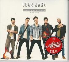 CD DEAR JACK : DOMANI E' UN ALTRO FILM  (PRIMA PARTE)   NUOVO  SIGILLATO