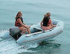 """Inflatable Sport Boat Cover Trailerable 9'5"""" to 10'4"""" Max 60"""" Beam Made in USA"""