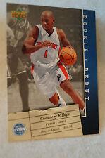 NBA CARD - Upper Deck - Rookie Debut Series - Chauncey Billups - Pistons
