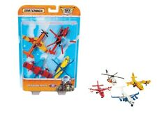 Matchbox Sky Buster Flight Pack Of 4 (Diecast Aircraft, Stunt Plane, Helicopter)