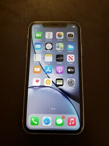 Apple iPhone XR - 128GB - White (Unlocked) A1984 (CDMA + GSM)EXCELLENT CONDITION