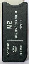 SanDisk M2 - memory stick adapter.