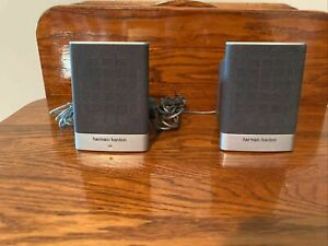 Harman Kardon HP Computer Speakers - SP05A04 5187-2105 Gray Black No Power Cord
