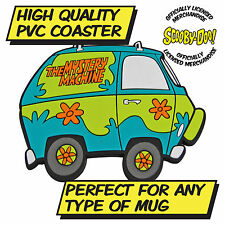 Scooby-Doo Mystery Machine Retro TV Coaster Gift Idea for Him and Her