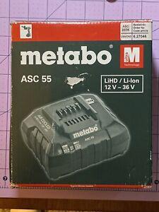 Metabo ASC55  12-36v Battery charger Ultra M