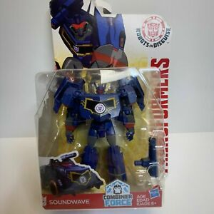 Transformers Robots in Disguise Combiner Force - Soundwave
