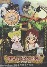(A01) Magic Tree House ( Animation Film ) DVD Eng SUB + Free Shipping
