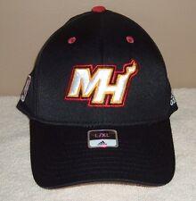 NBA Miami Heat Basketball Adidas  L/XL  hat / cap (new with tag)