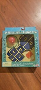 1999 MADELINE & FRIENDS ACCESSORIES HOP SCOTCH GAME Playground new sealed