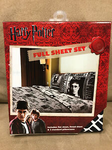 """Harry Potter Full Bed Sheet Set """"Dark Times"""" Brand New Free Shipping!!! Sheets"""
