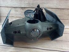 Star Wars Darth Vader TIE Fighter Vehicle - Hasbro Lucas Film 2003 Toy