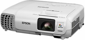 EPSON EB-X20 2700 LUMENS HOME CINEMA HDMI PROJECTOR NEW LAMP 10,000 HOURS