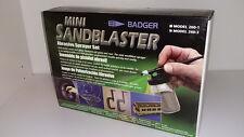 Badger 260-3 Hobby Mini Sandblaster (Sand-Blaster) Set/Abrasive Sprayer Gun